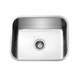 Single Stainless Steel Jayna Spartan Kitchen Sink