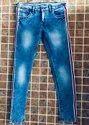 Women's Blue Ribbon Contrast Jeans