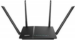 Wireless or Wi-Fi Black D-Link DIR-825