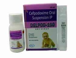 Cefpodoxime Proxetil 100mg- DELPOD 100