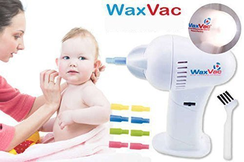 Electric Ear Wax Vac Remover Cleaner Vacuum Removal kit