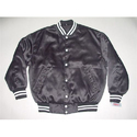 Plain Black Satin Jackets