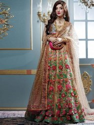 Net Bridal Lehenga