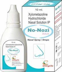 Xylometazoline Hydrochloride Nasal Solution IP, 10 Ml