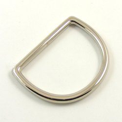 Polished D Ring