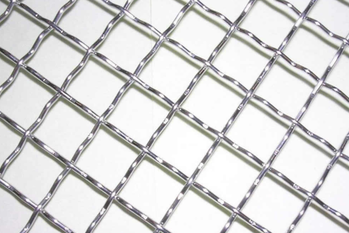 Silver Twill Stainless Steel Double Crimped Wire Mesh, For Industrial,  Material Grade: SS304,SS316, Rs 200 /square feet | ID: 8620989212