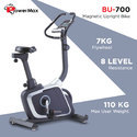 Powermax Usa Magnetic Upright Bike(Bu 700)