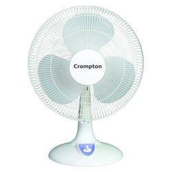 3 White Hiflo Crompton Electric Table Fan