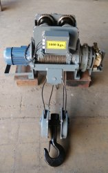 Electric Wire Rope Hoist with AC Brake