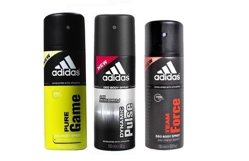 Adidas Deodorant Team Force Pure Game Fragrance Spray For Men Rs