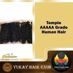 Temple AAAAAA Grade Human Hair