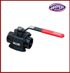 Forged Steel 3 Pieces Ball Valve