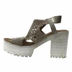 Grey Women Faded High Heels