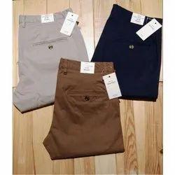 Formal Wear Mens Cotton Trouser