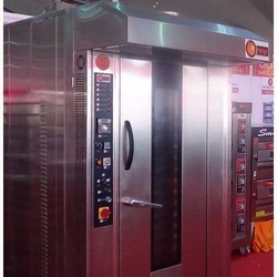 Electric Rotary Oven, Capacity: 500-1000 kg