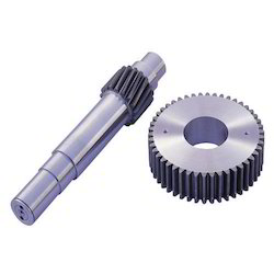 Cement Mill Integral Pinion Shaft