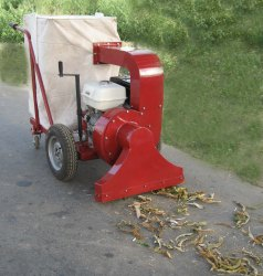 Leaf Collector Machine