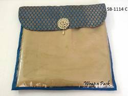 Tissue Bag with Brocade Flap