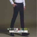 Formal Wear Bci Cotton Mens Slim Fit Trousers
