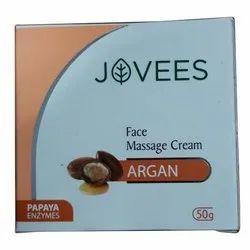 Herbal Jovees Argan Face Massage Cream, Packaging Size: 50 Gram