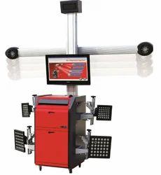 Automatic 3D Wheel Alignment Machine, Power: 1.1 kW