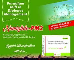 Glimepiride Metformin Pioglitazone (NUMIglide-PM2) Tablet