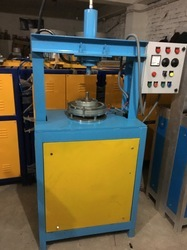 Semi- Automatic Hydraulic Single Die Making Machine