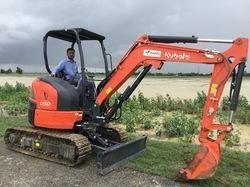 Mini Hydraulic Excavator Kubota 1.7 ton  3 Ton 5 Ton class MADE IN JAPAN