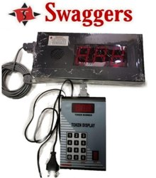 Swaggers Digital Token Display