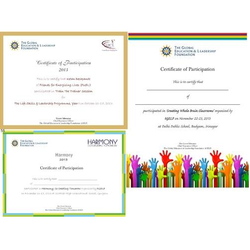 Available Paper Certificate Printing Services, in Pan India