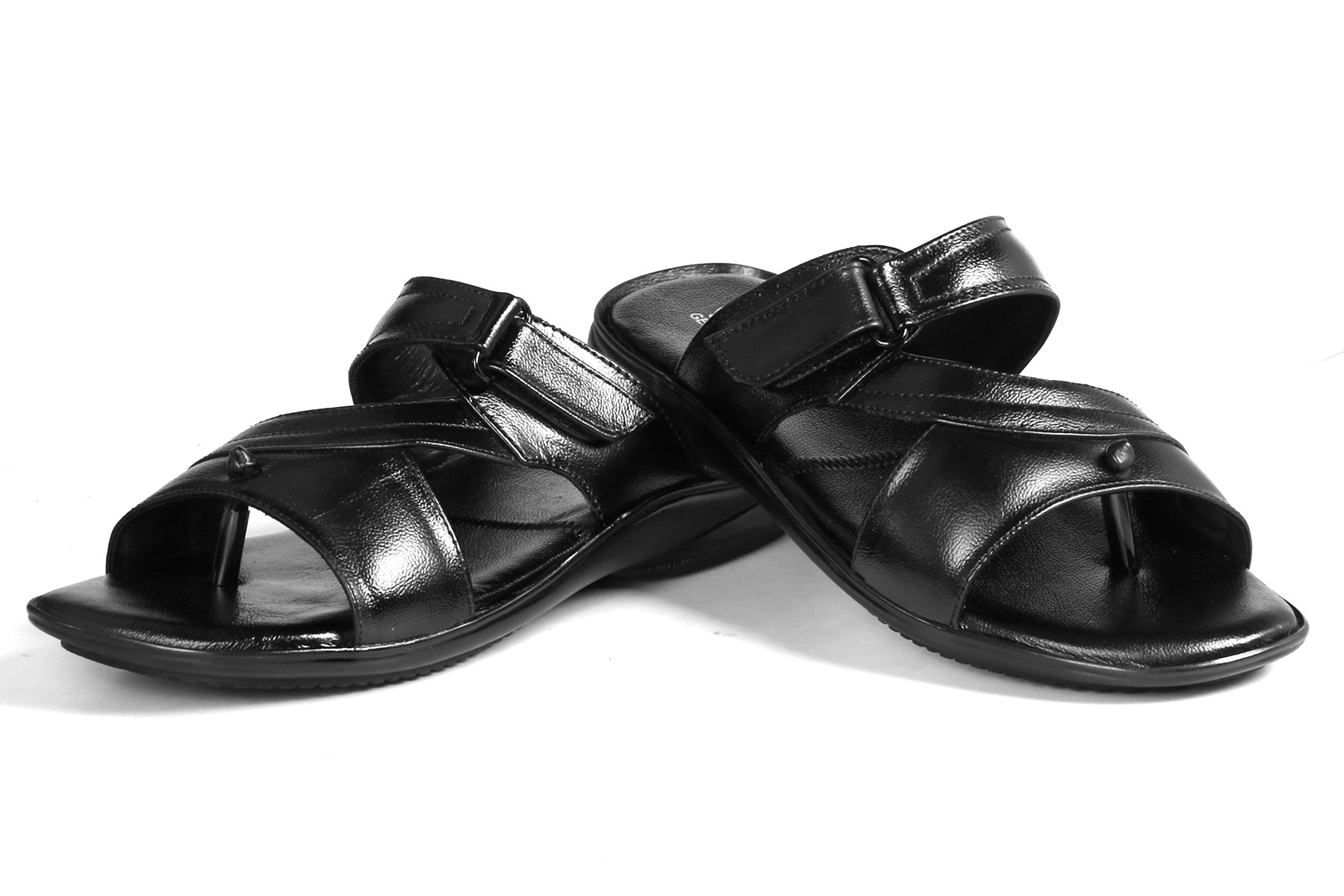 Mens Black Slippers, Size: 6-10