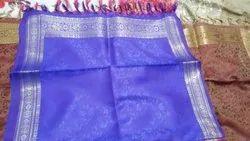 Golden Border Silk Scarves