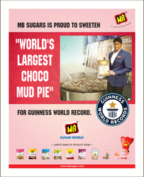 Guinness Word Record-Worlds Largest Choco Mud Pie