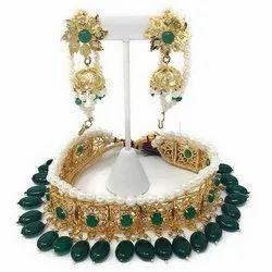 Jewellery Jadavi Lacha Necklace Set