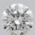 1.00ct Lab Grown Diamond CVD H VVS2 Round Brilliant Cut IGI Crtified Type2A