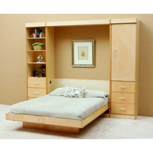 Murphy Bed Price In India: Wood Brown Wall Bed, Rs 37000 /piece, RK Enterprises