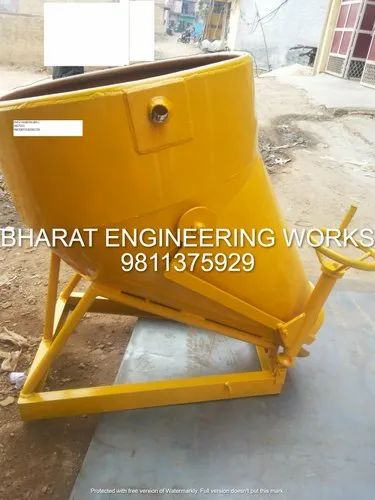 Side Discharge Concrete Bucket For Column Filling