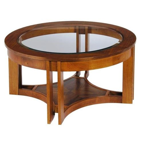 Strange Round Wooden Center Table Gmtry Best Dining Table And Chair Ideas Images Gmtryco