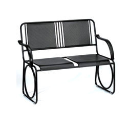 Arm Rest Black Waiting Chair