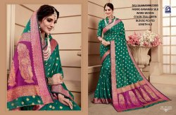 Rachna Banarasi Silk Saawariya Catalog Saree Set For Woman 5