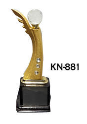 KN-881 Silver Ball Studded Trophy