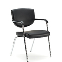 Visitor Black Color Chair