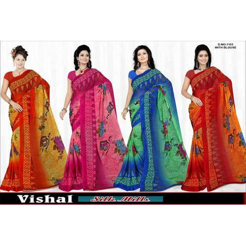 b88ca33f9f Printed Weightless Saree at Rs 200 /piece | वेटलेस साड़ी ...