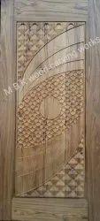 Wooden Carving Single Door