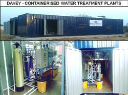 NA Container Based Water Treatment Plant, For Induatrial