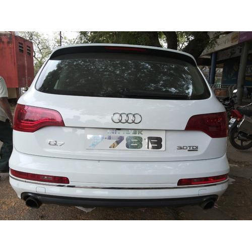 Steel Car Number Plate At Rs Piece Car Registration Plate - Audi car number