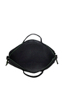 Black Quilted Laptop Bag