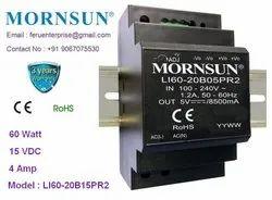 Mornsun LI60-20B15PR2 Power Supply