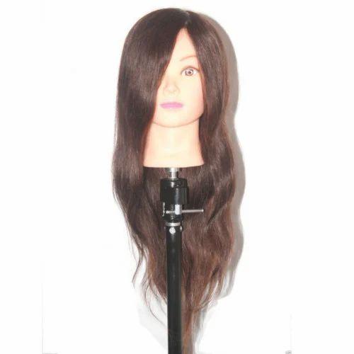 Original Hair Mannequin Head For Makeup