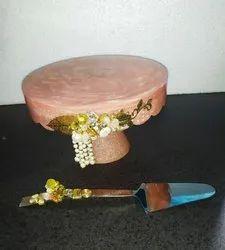 Resin Cake Platter